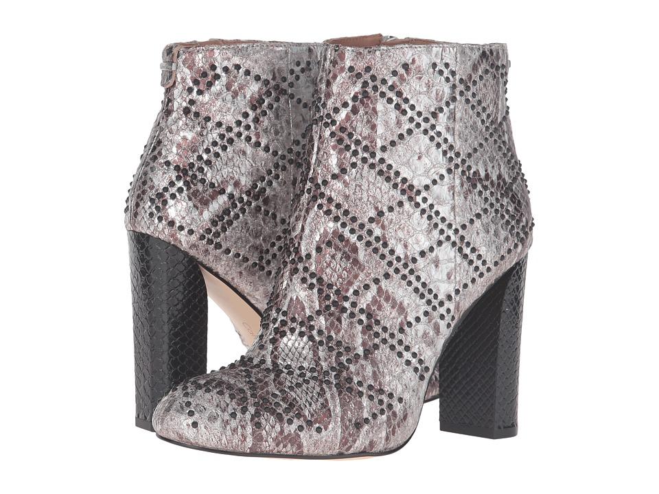 Calvin Klein Jamine (Silver Foiled Snake Print Leather) Women