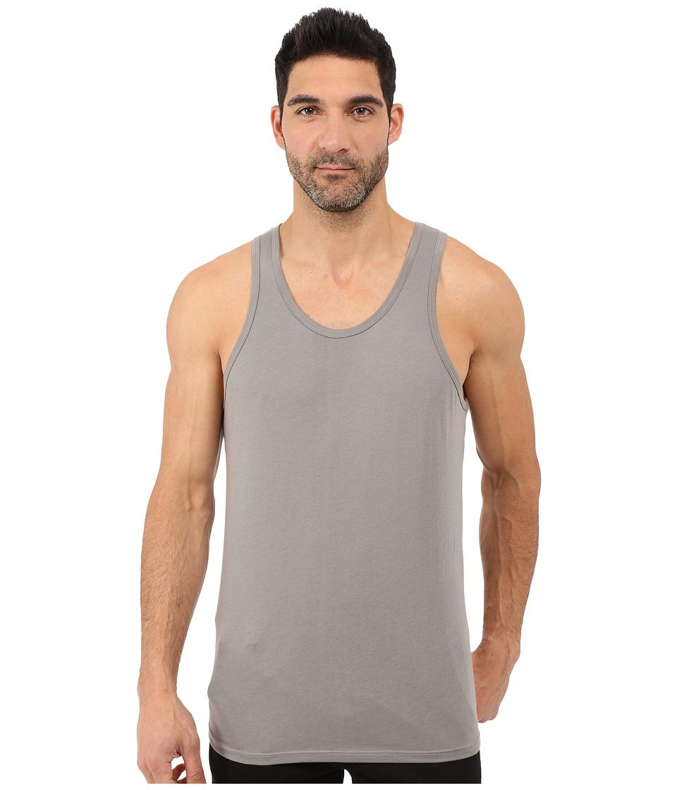 Alternative - Cotton Modal Easy Tank Top (Nickel) Men's Sleeveless