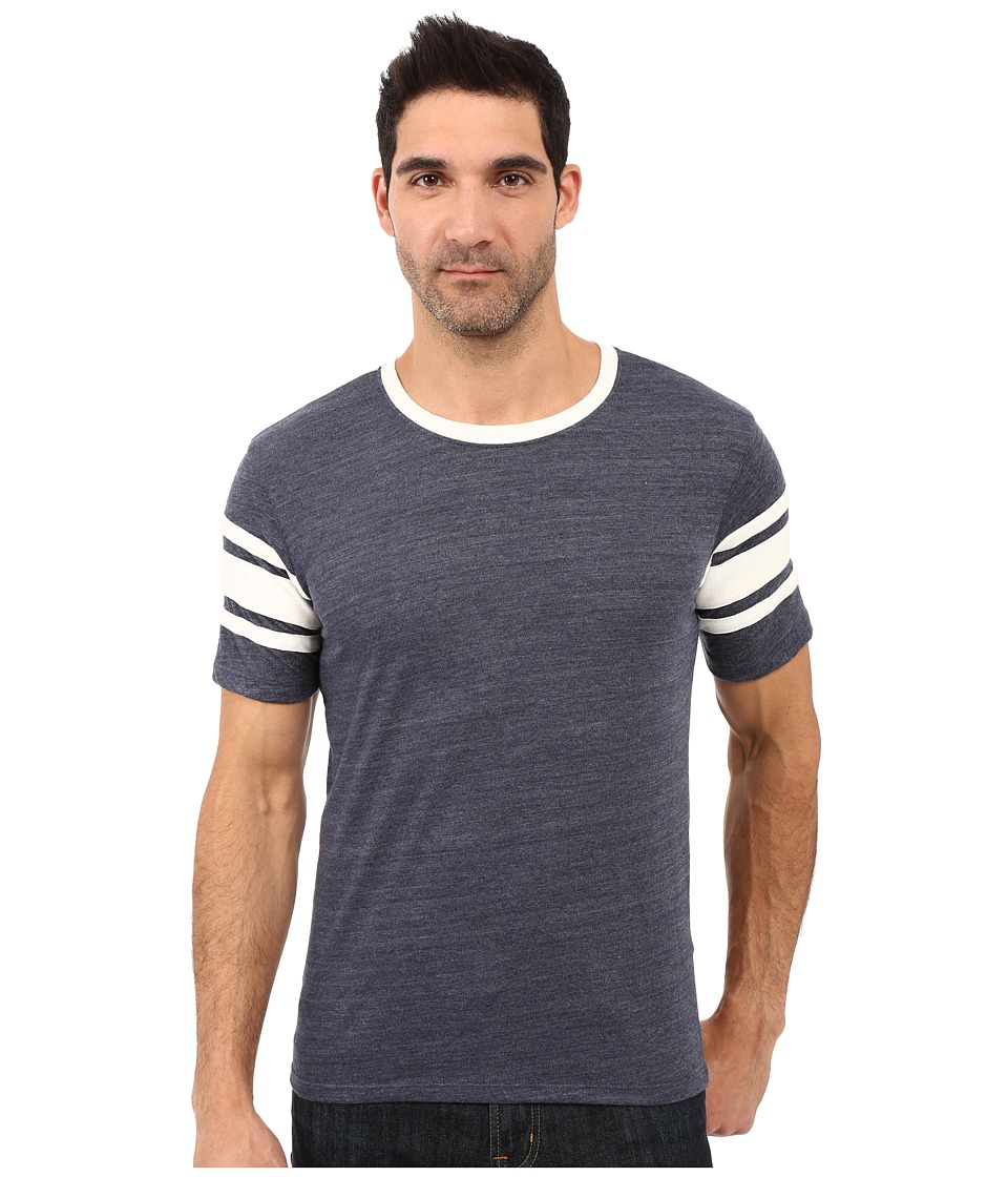 Alternative - Eco Jersey Touchdown Tee (Eco True Navy) Men's T Shirt