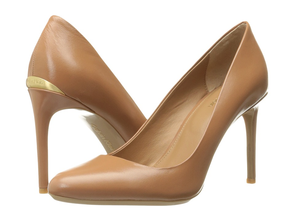 Calvin Klein - Salene (Garnet Leather) Women's Shoes
