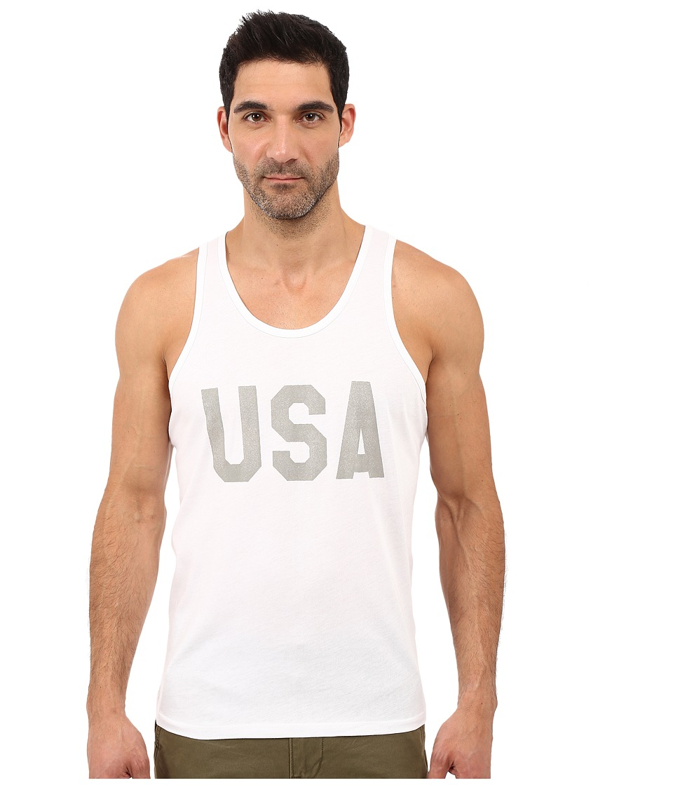 Alternative - Cotton Modal Easy Tank Top (USA Print) Men's Sleeveless