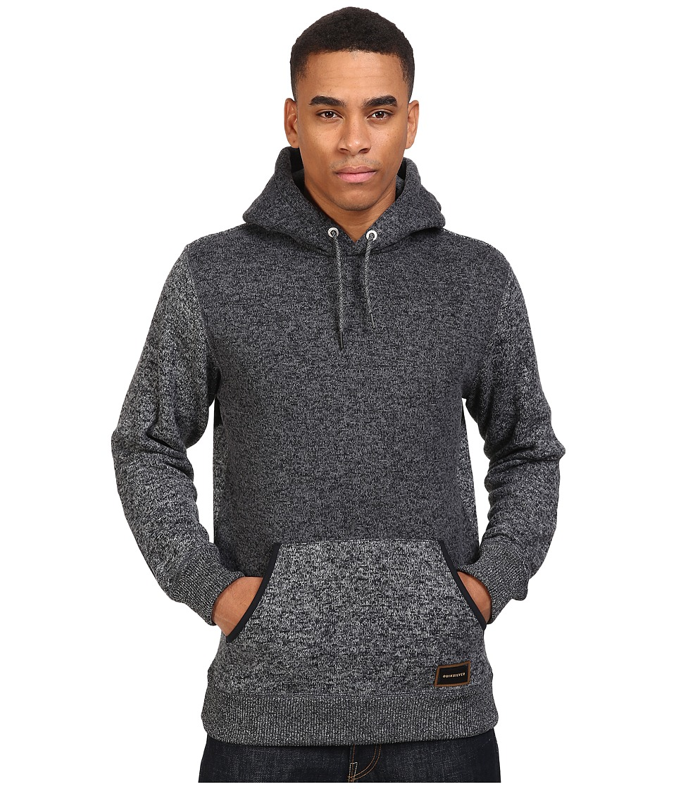 Quiksilver - Keller Polar Fleece Hoodie (Tarmac) Men's Sweatshirt