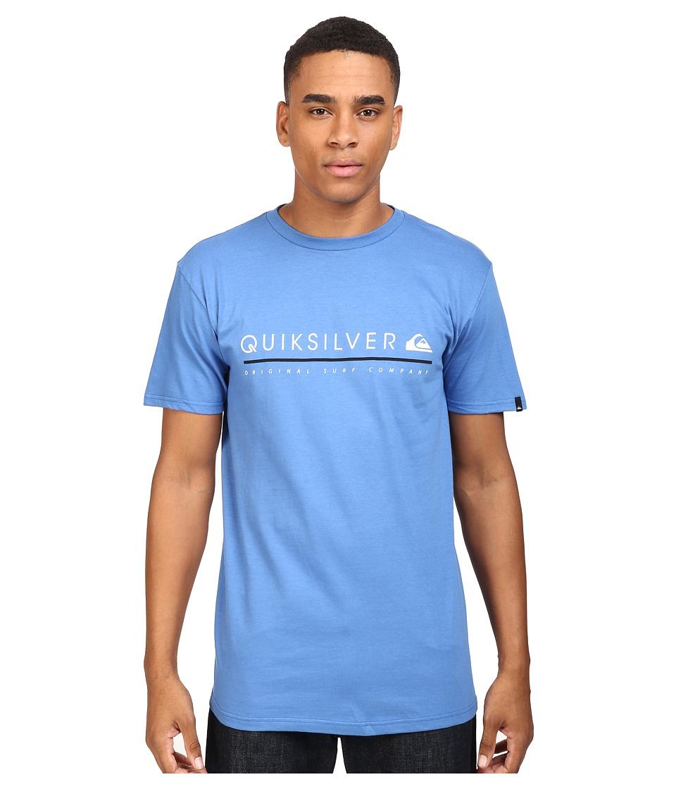 Quiksilver - Formula Uno Tee (Star Sapphire) Men's T Shirt