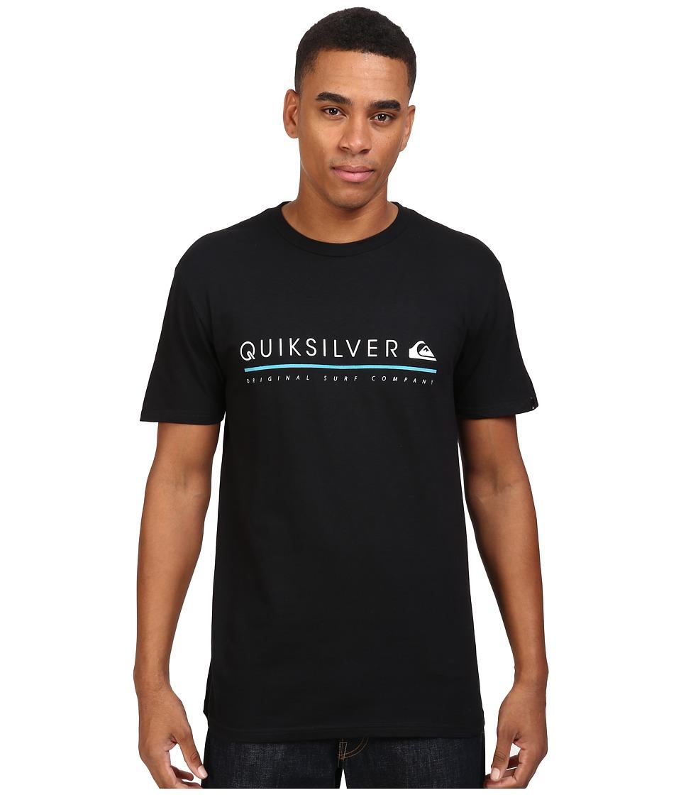 Quiksilver - Formula Uno Tee (Black) Men's T Shirt