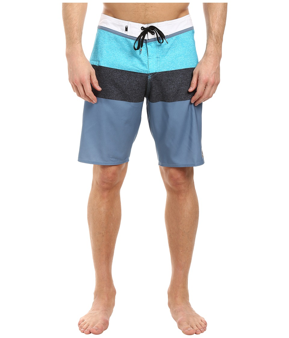 Quiksilver - Everyday Blocked Vee 20 Boardshorts (Captains Blue) Men's Swimwear