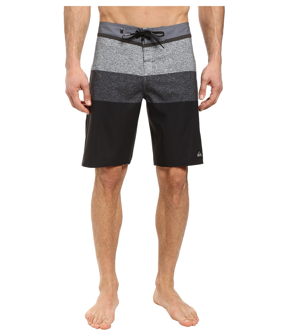 Quiksilver - Everyday Blocked Vee 20 Boardshorts (Black) Men's Swimwear