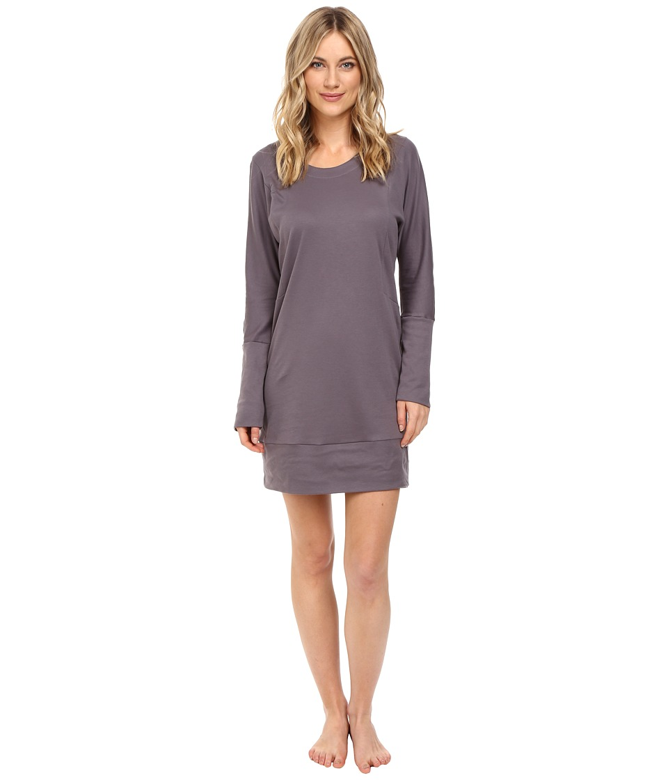 Hanro - Alice Gown (Warm Grey) Women's Pajama