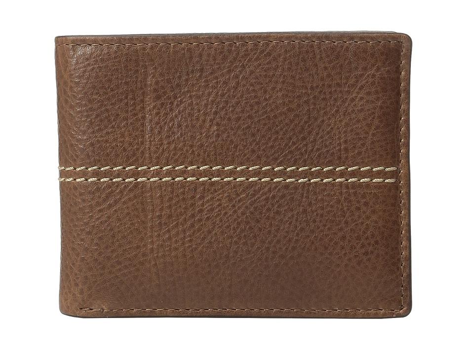 Fossil - Turk Passcase (Brown) Wallet