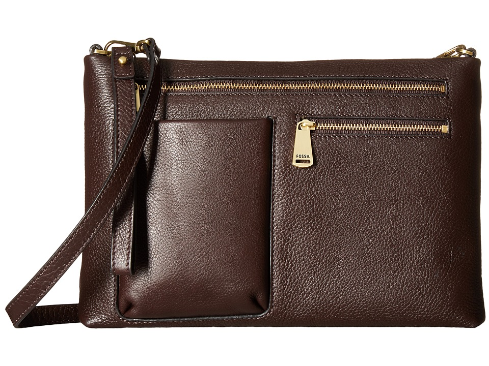 Fossil - Piper Mini Crossbody (Cordovan) Cross Body Handbags
