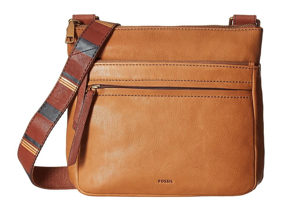 Fossil - Corey Crossbody (Camel) Cross Body Handbags