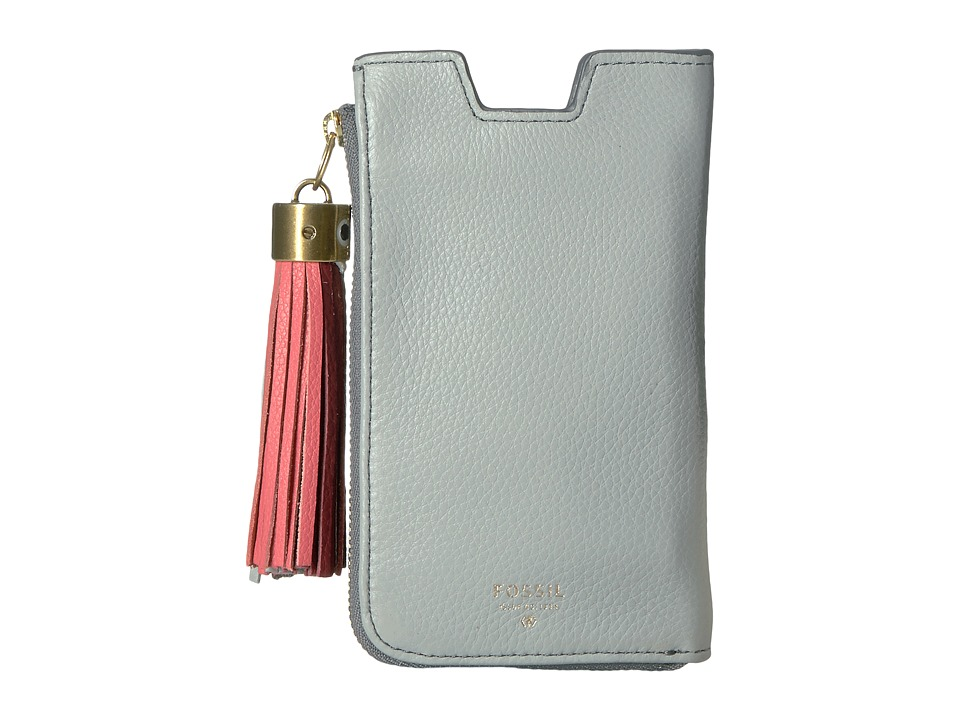 Fossil - Phone Sleeve Wallet (Iron) Wallet Handbags