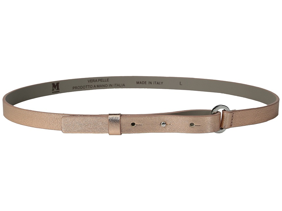 M Missoni - Belt (Rose Gold) Women's Belts