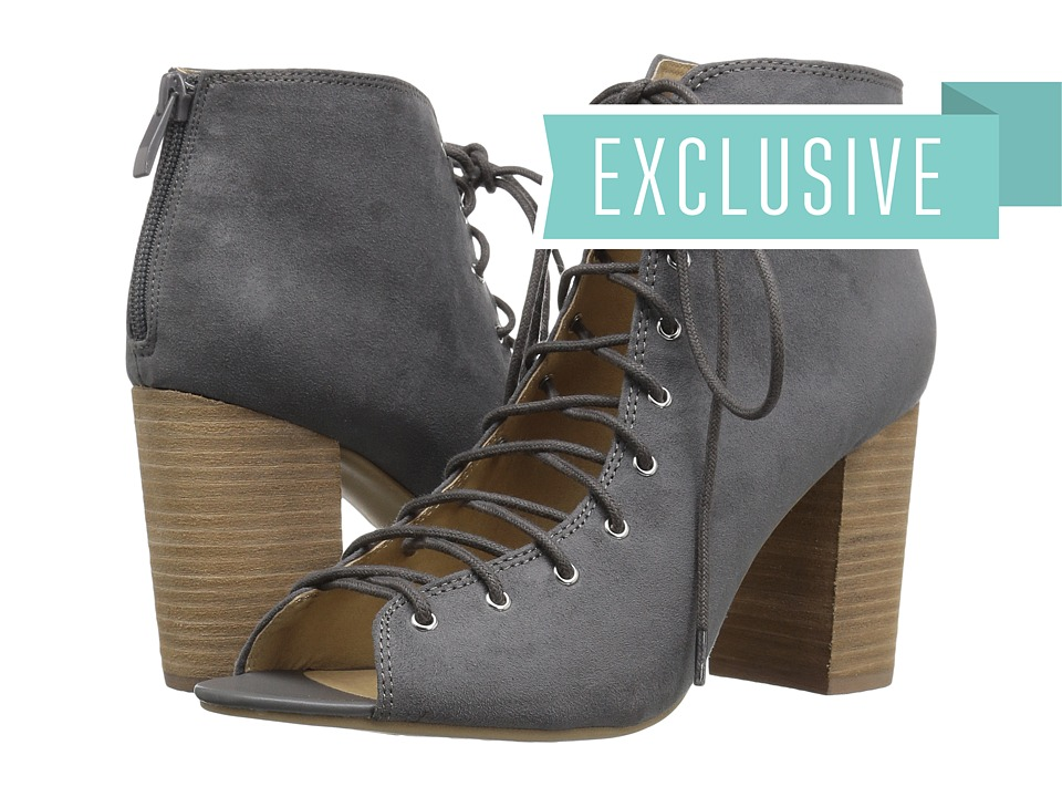 Chinese Laundry - Blue Ridge (Charcoal Micro Suede) High Heels