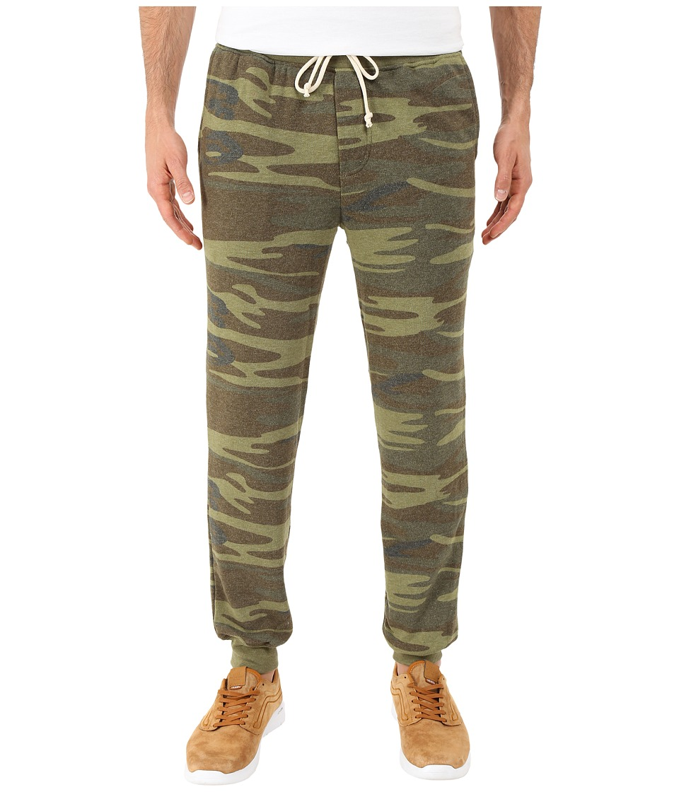 Alternative - Dodgeball Eco Fleece Pants (Camo) Men's Casual Pants