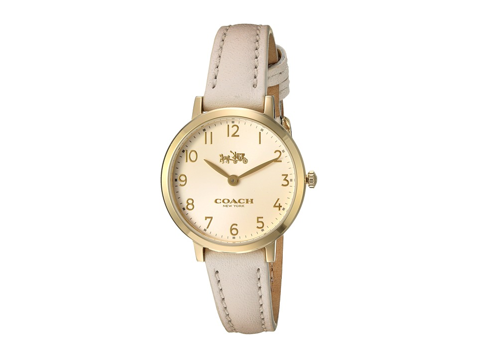 COACH - Ultra Slim 28mm (Chalk/White) Watches
