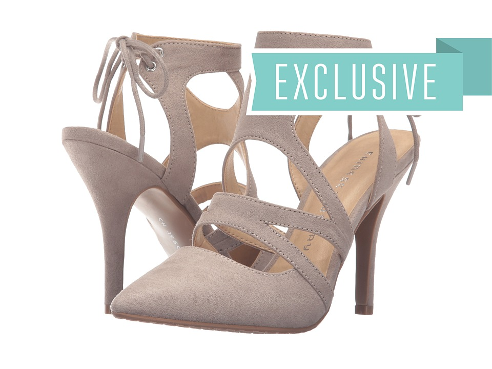 Chinese Laundry - Symbol (Taupe Micro Suede) High Heels
