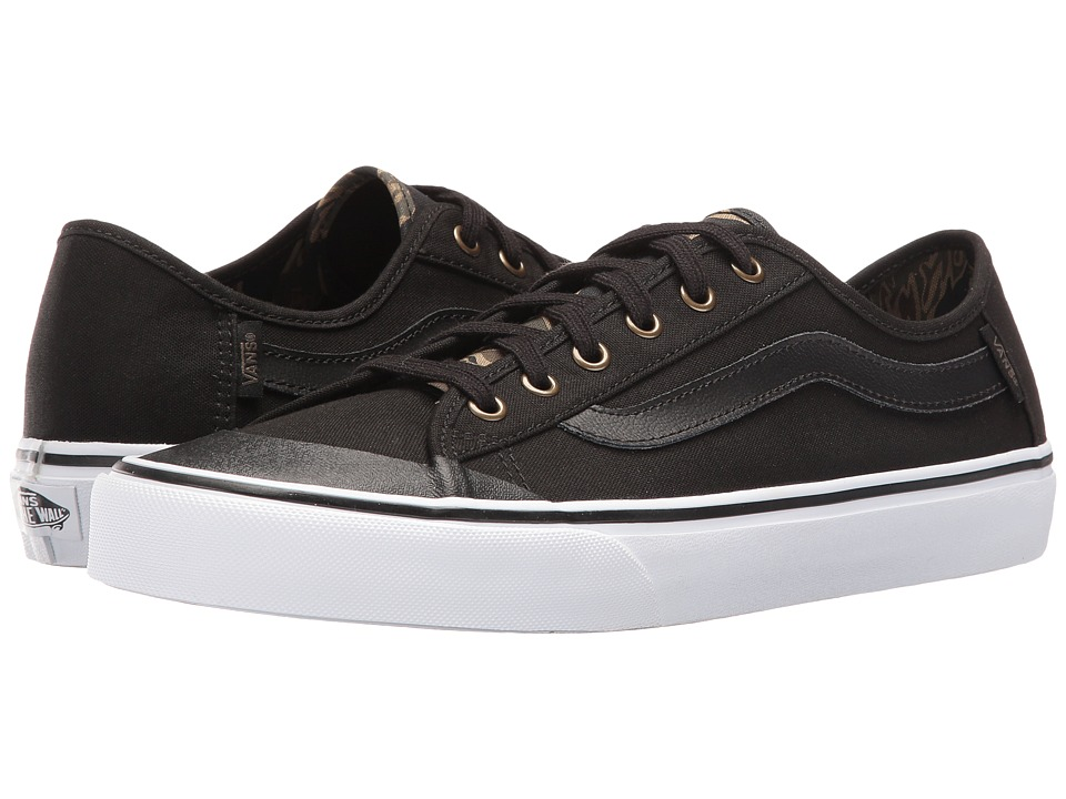 Vans - Black Ball SF (Black/Vintage Camo) Men's Shoes