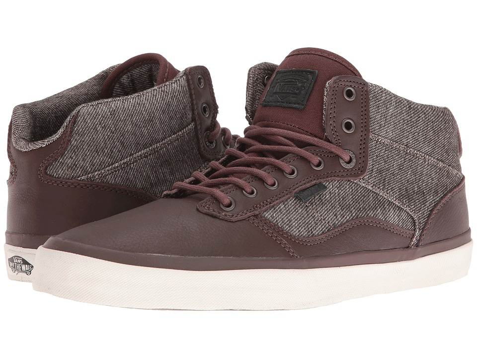 Vans Bedford ((Monogram) Chestnut/Turtledove) Skate Shoes