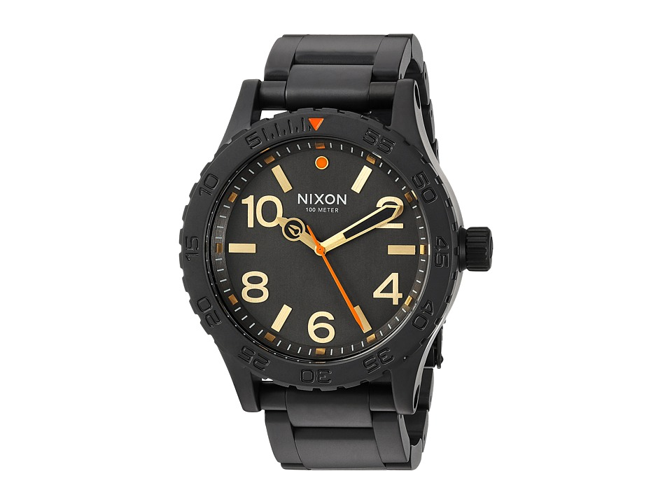 Nixon - The 46 X Sport Lux Collection (All Black/Surplus) Watches