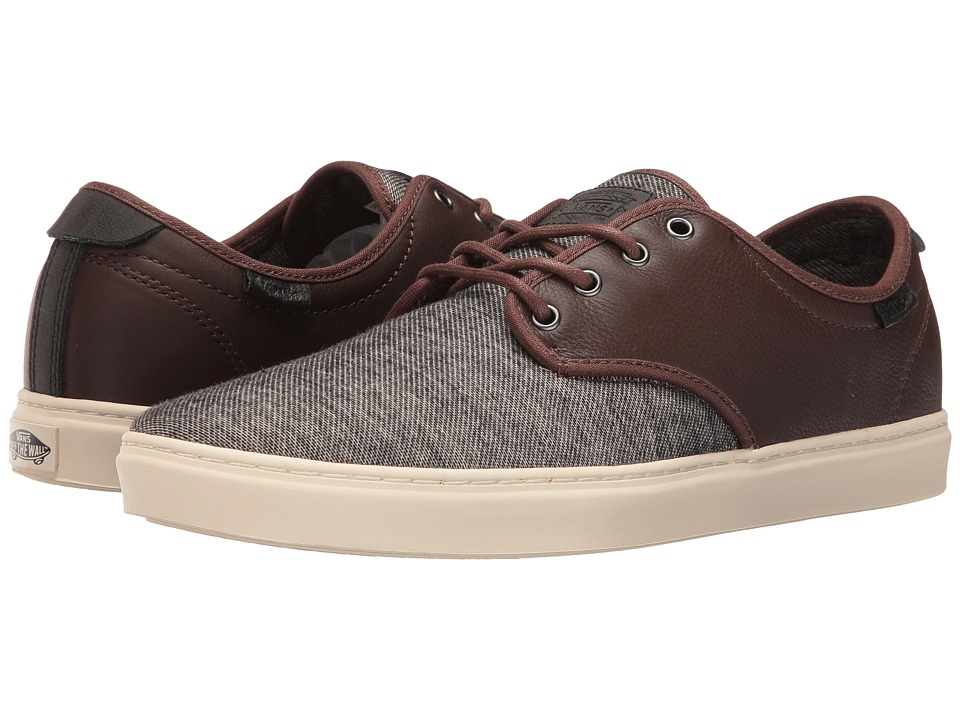 Vans - Ludlow ((Monogram) Chestnut/Turtledove) Skate Shoes