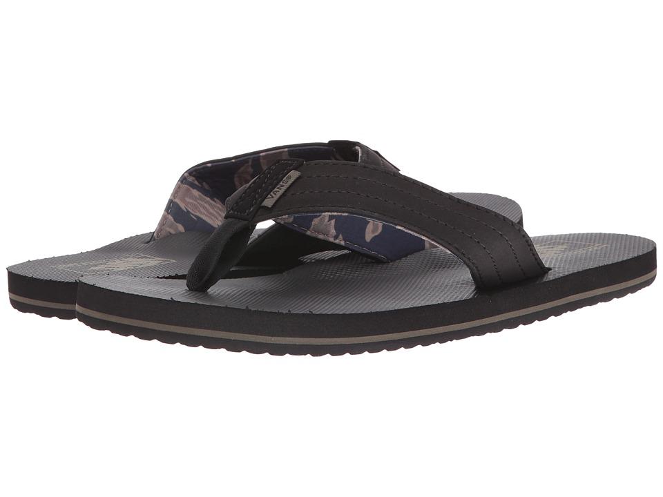 Vans - T Street (Vintage Camo) Men's Sandals