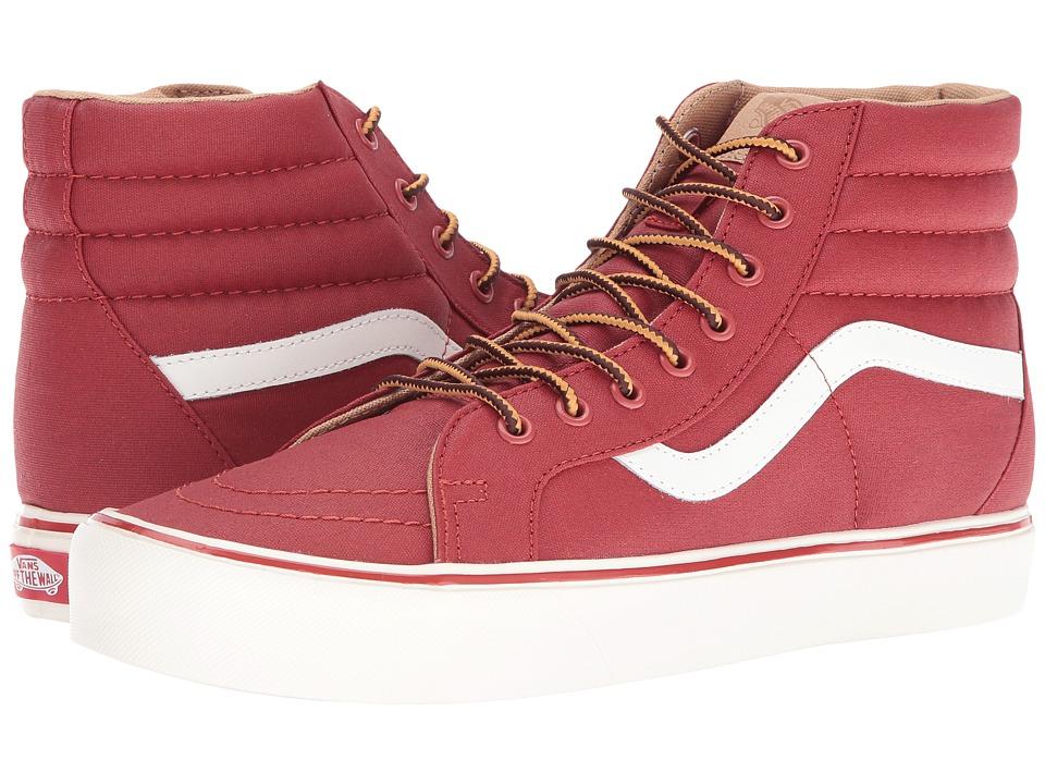 Vans - SK8-Hi Reissue Lite ((Heritage) Bosa Nova/Classic White) Skate Shoes