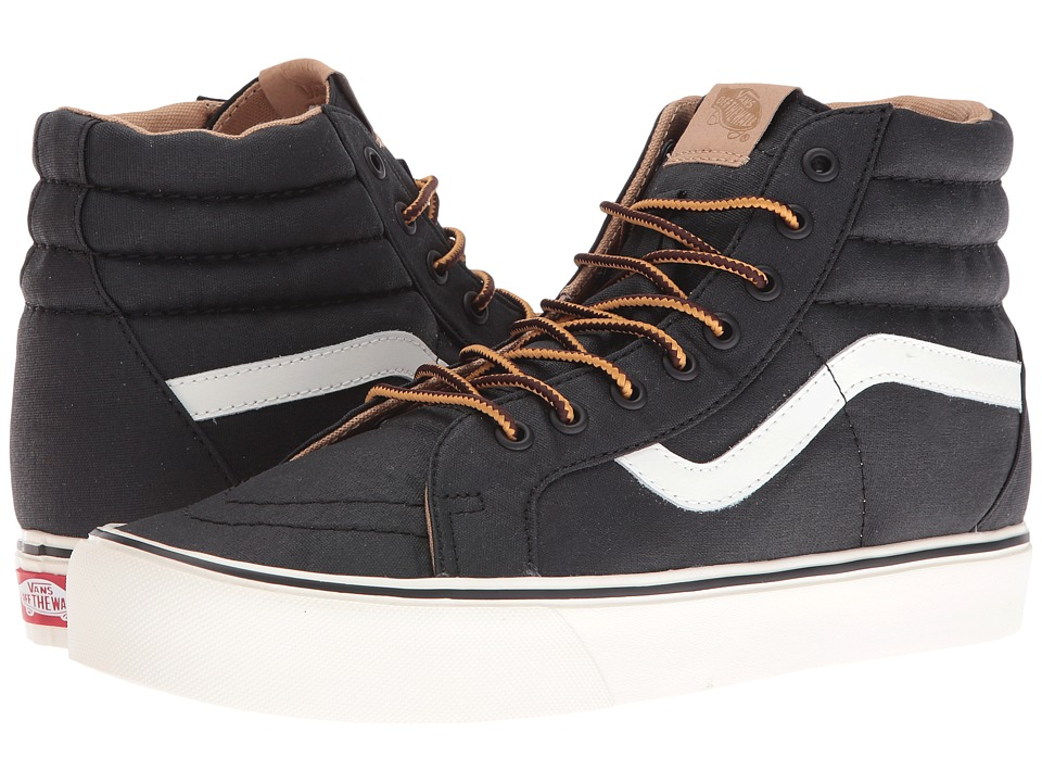 Vans - SK8-Hi Reissue Lite ((Heritage) Black/Classic White) Skate Shoes