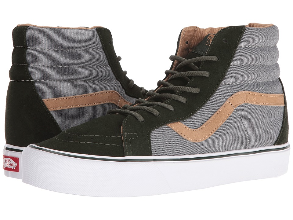 Vans - SK8-Hi Reissue Lite ((Heathered) Rosin/White) Skate Shoes