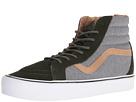 SK8-Hi Reissue Lite ((Heathered) Rosin/White) Skate Shoes