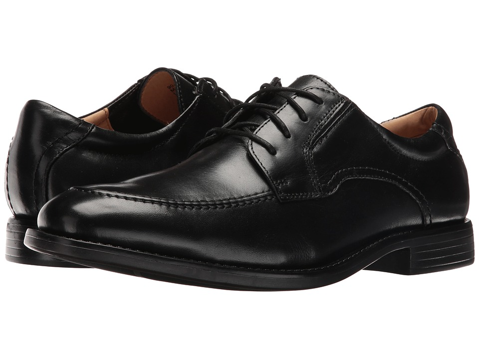 Dockers - Franklin (Black Polished Full Grain) Men's Lace up casual Shoes