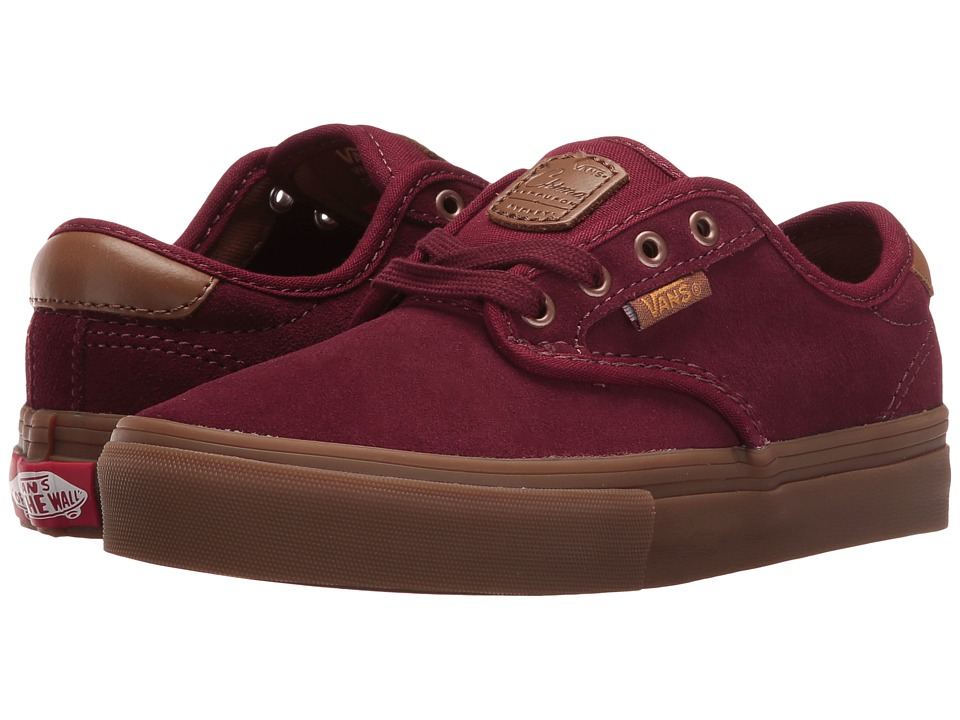 Vans Kids - Chima Ferguson Pro (Little Kid/Big Kid) ((Suede) Port Royale/Gum) Boys Shoes