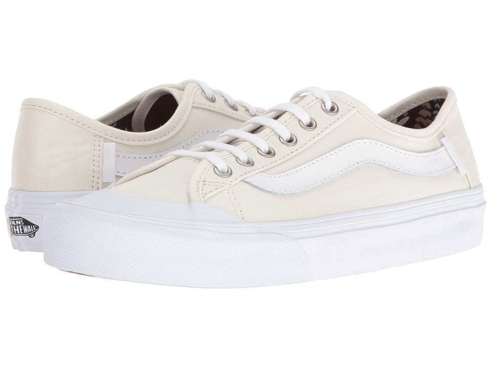 Vans - Black Ball SF (Classic White/Aloha) Women's Lace up casual Shoes