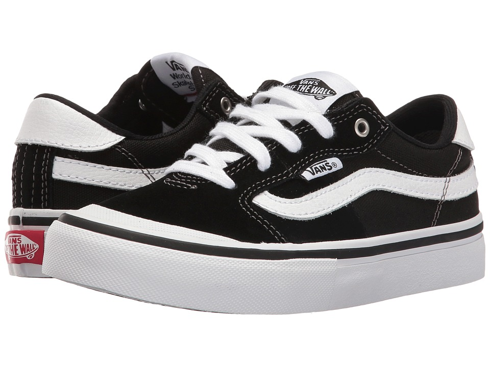 Vans Kids - Style 112 Pro (Little Kid/Big Kid) (Black/White) Boys Shoes