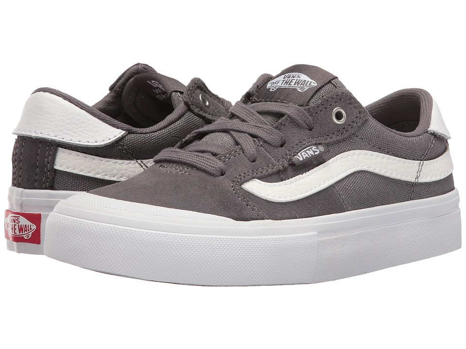 Vans Kids - Style 112 Pro (Little Kid/Big Kid) (Tornado/White) Boys Shoes