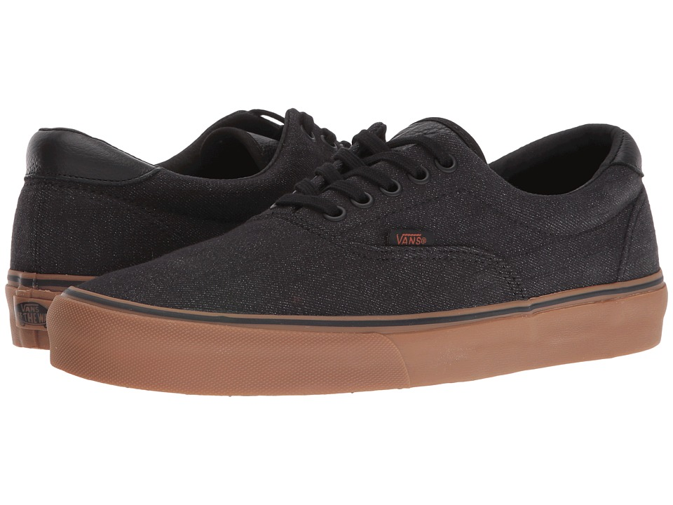 Vans - Era 59 ((Denim C&L) Black/Gum) Skate Shoes