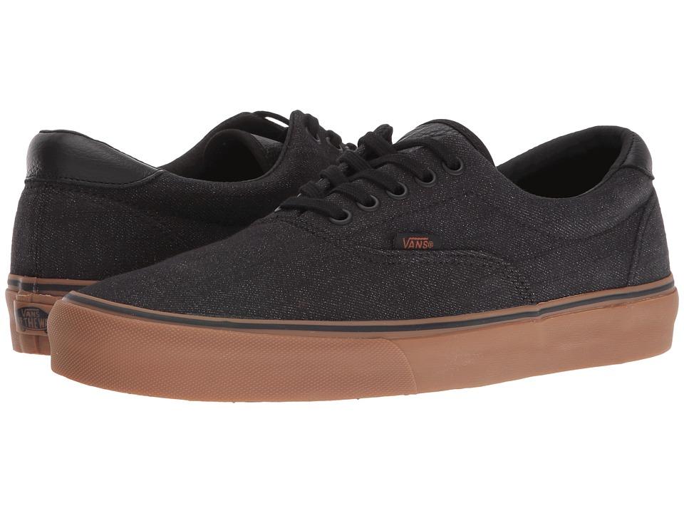 Vans - Era 59 ((Denim C&L) Black/Gum) Skate Shoes