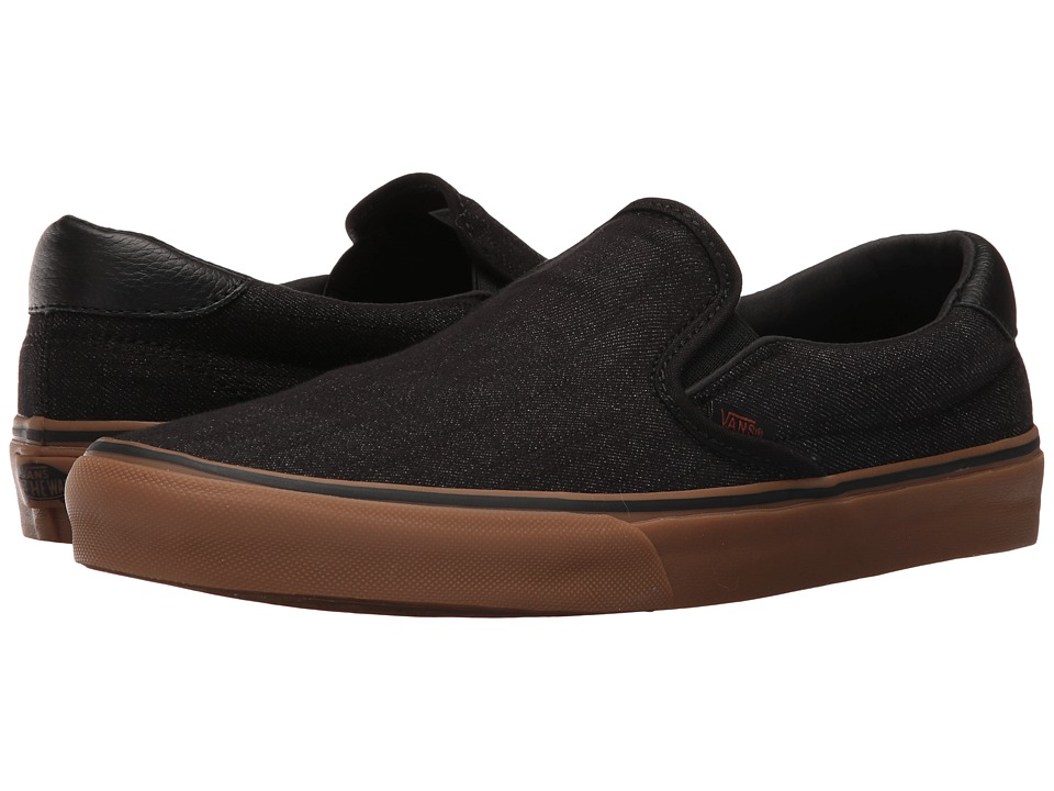 Vans - Slip-On 59 ((Denim C&L) Black/Gum) Skate Shoes