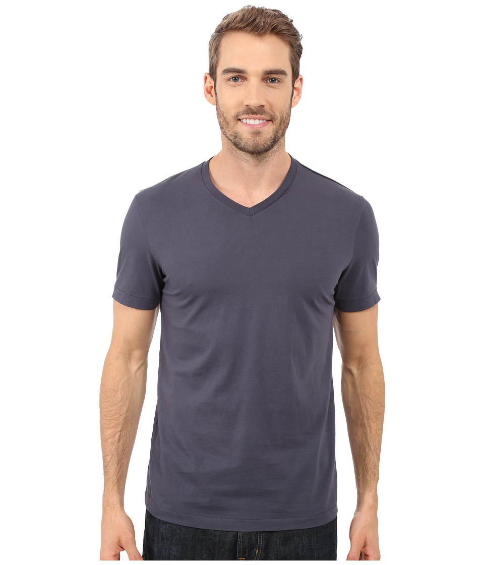 Mod-o-doc - Del Mar Short Sleeve V-Neck Tee (Armour) Men's T Shirt