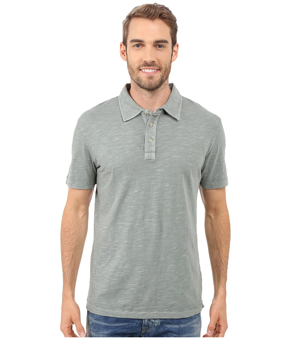 Mod-o-doc - Zuma Short Sleeve Polo (Sage) Men's Clothing