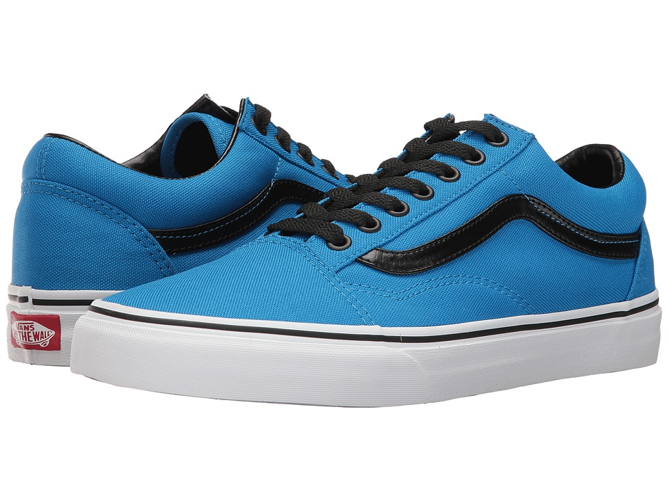 Vans - Old Skool ((Brite) Neon Blue/Black) Skate Shoes