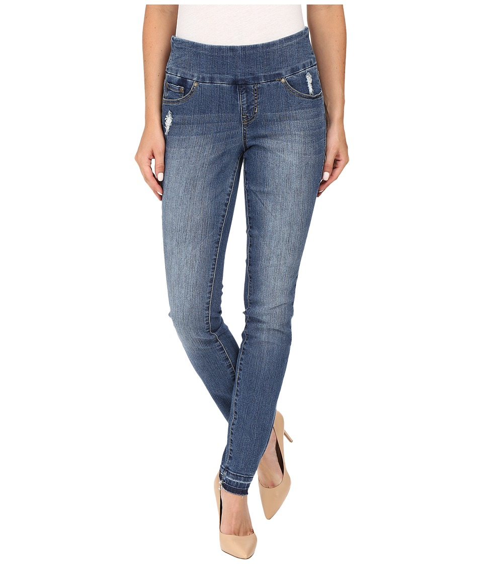 Jag Jeans - Nora Pull-On Skinny Comfort Denim in Weathered Blue (Weathered Blue) Women's Jeans