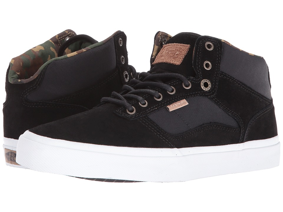 Vans - Bedford ((Military) Black/White) Skate Shoes