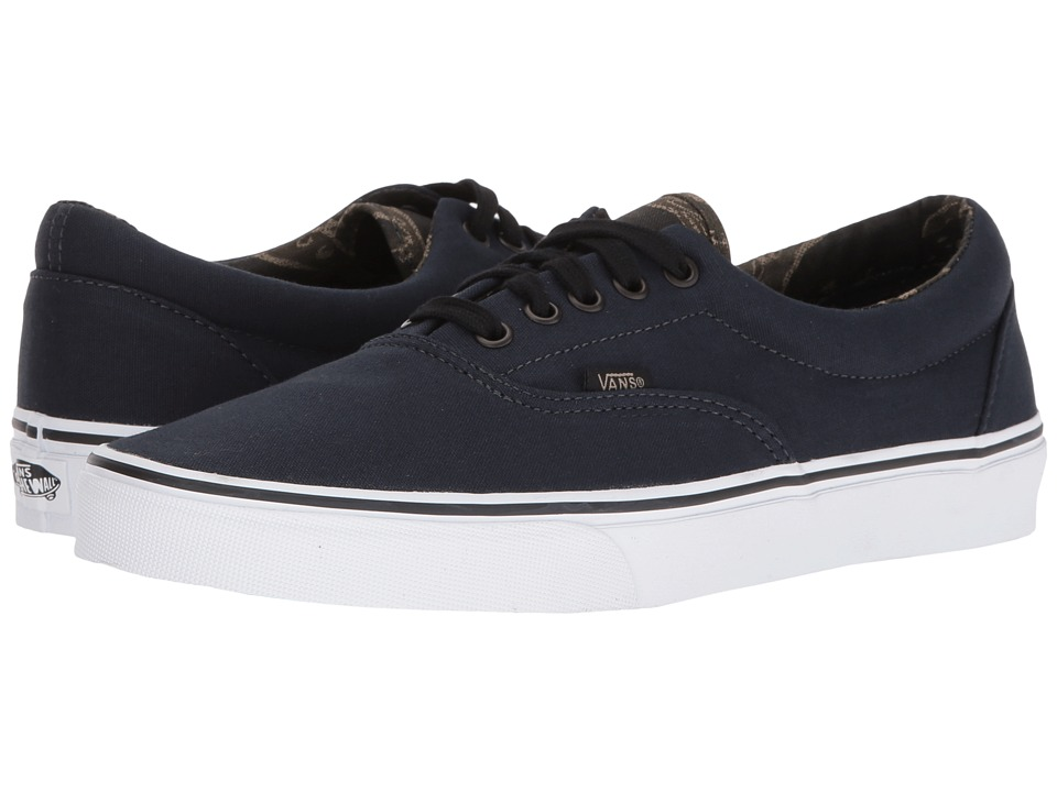 Vans - Era ((Vintage Camo) Dark Navy/Black) Skate Shoes