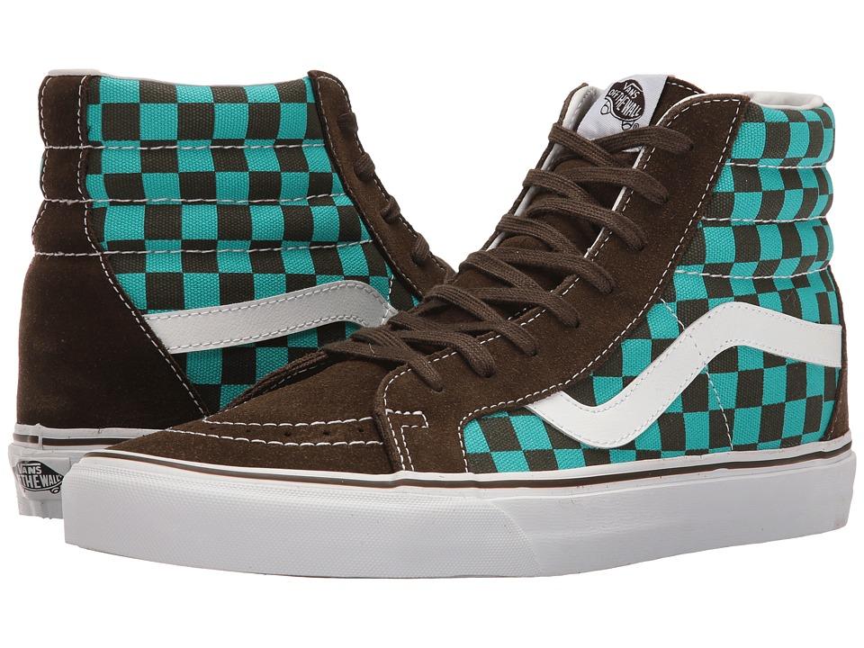 Vans - SK8-Hi Reissue ((50th) Checkerboard/Ceramic) Skate Shoes