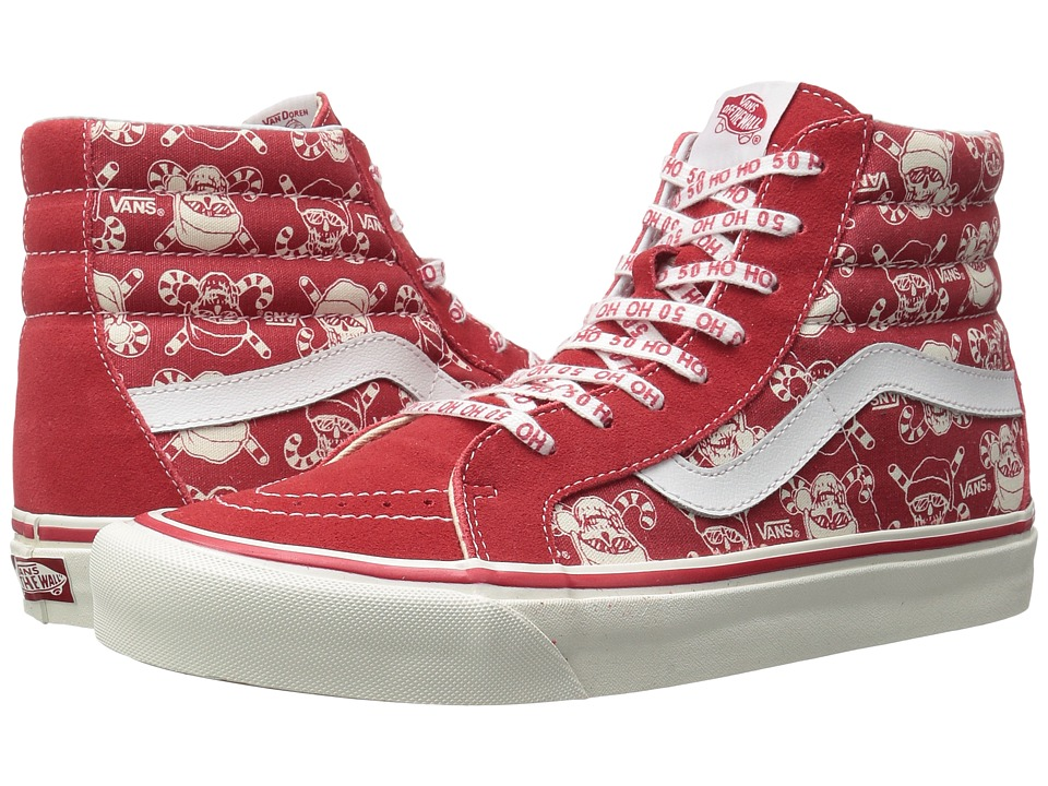 Vans - SK8-Hi 38 Reissue ((50th) Stv/Pirate Santa/Red) Skate Shoes