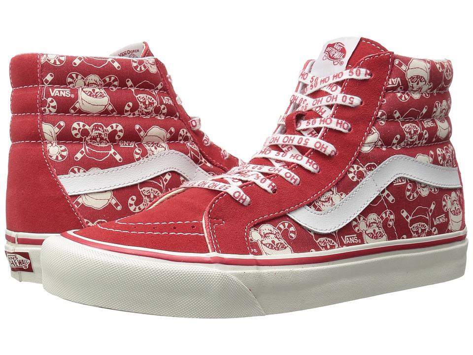Vans - SK8-Hi 38 Reissue ((50th) Stv/Pirate Santa/Red) Skate Shoes