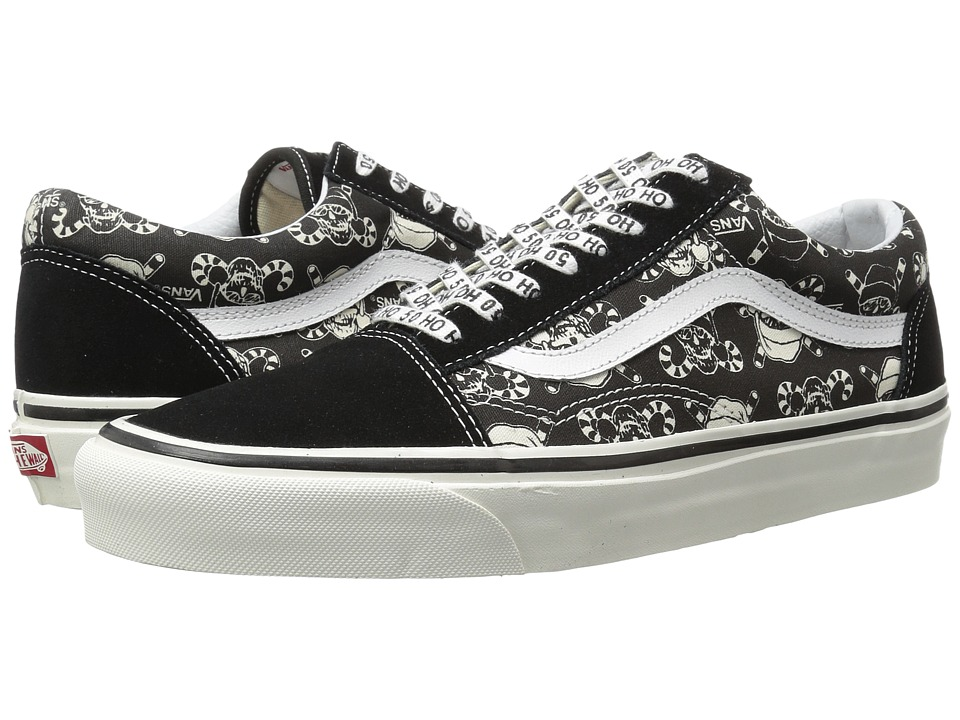 Vans - Old Skool 36 Reissue ((50th) Stv/Pirate Santa/Black) Skate Shoes