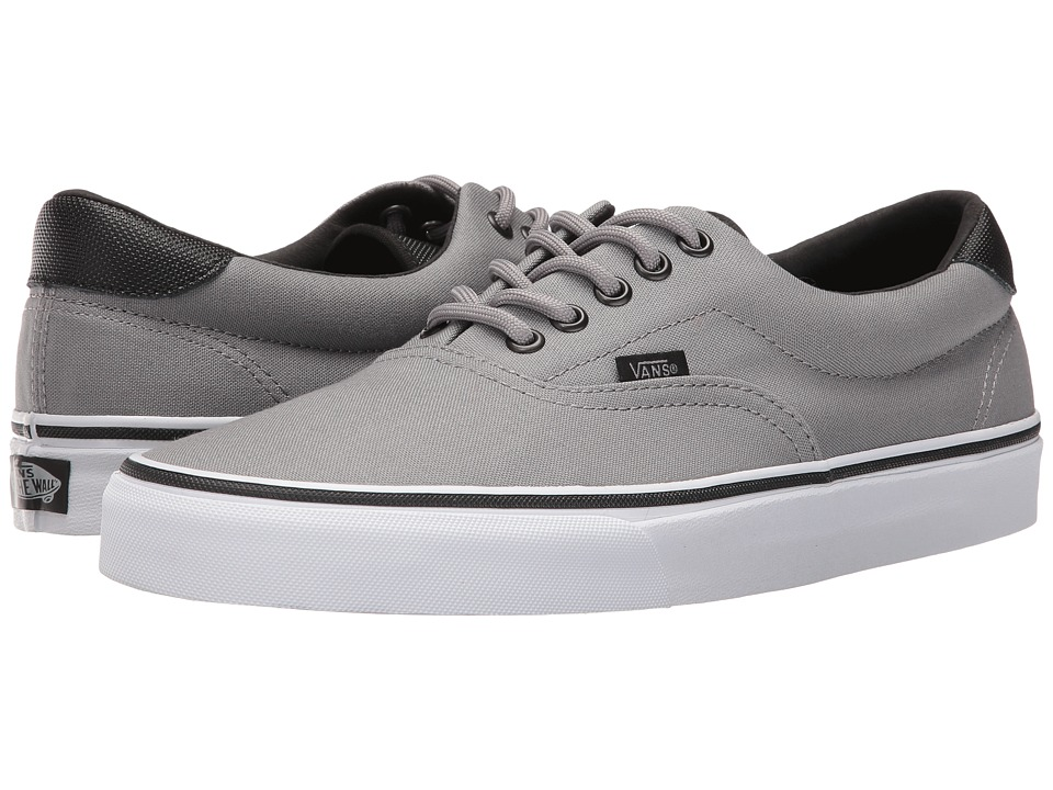 Vans - Era 59 ((Canvas/Military) Frost Gray/White) Skate Shoes