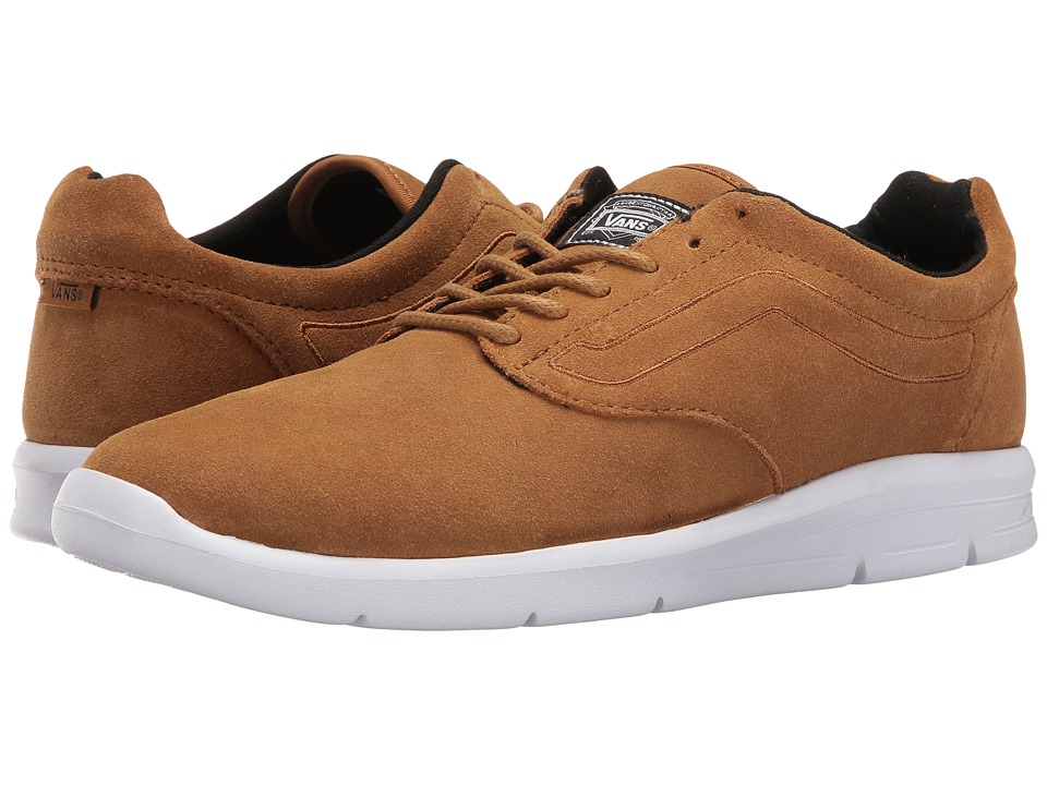 Vans - ISO 1.5 ((Suede) Bistre/True White) Men's Skate Shoes