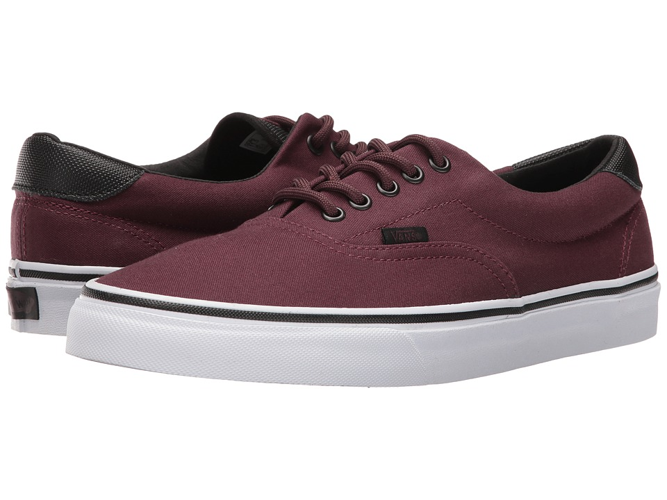 Vans - Era 59 ((Canvas/Military) Iron Brown/White) Skate Shoes